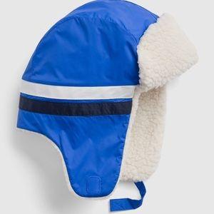 Kids Sherpa Trapper Hat Size S/M
